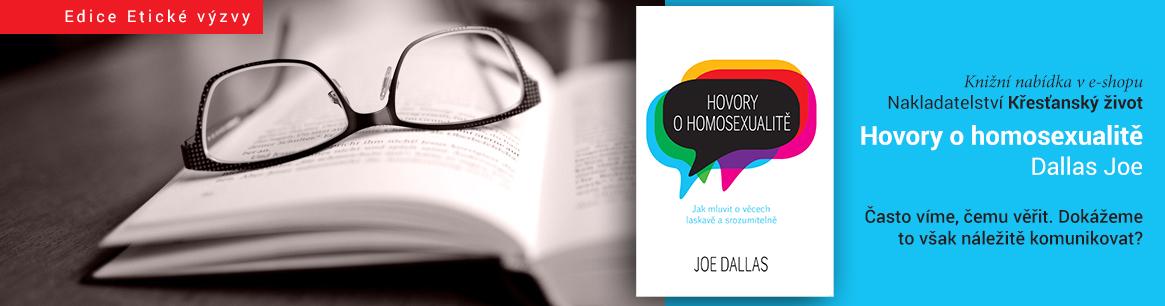 Kniha Hovory o homosexualitě od Joe Dallase
